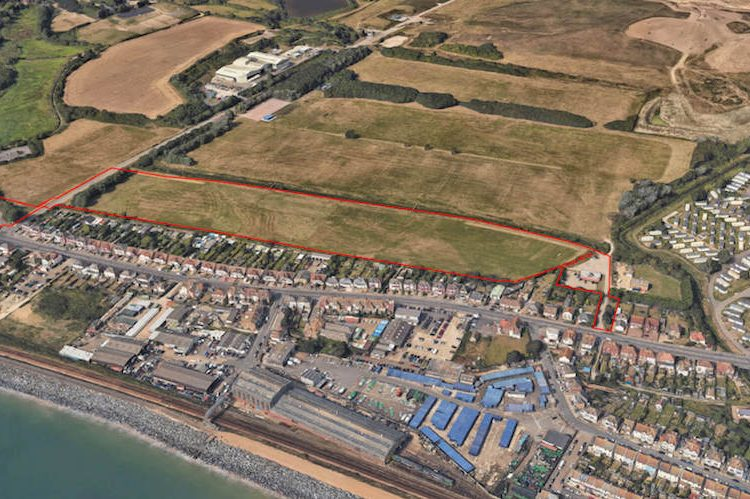 Planning application goes in for 192 new homes on Bulverhythe site