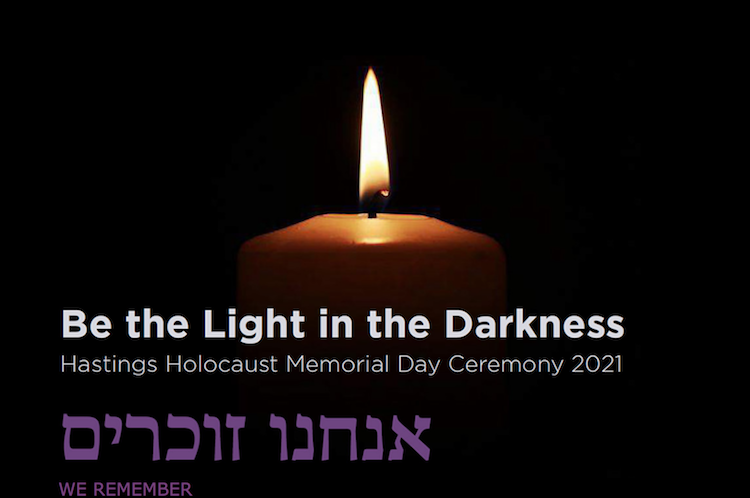 Be the light in the darkness – Holocaust Memorial Day goes online
