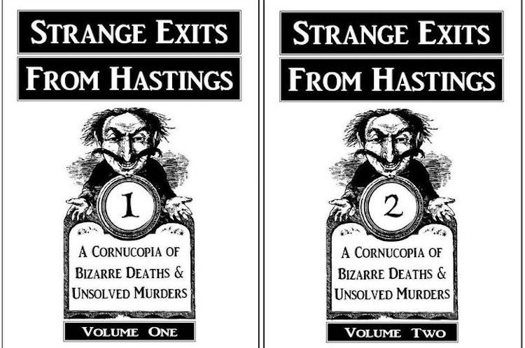 One best seller is not enough, Helena dishes up a second helping of 'Strange Exits from Hastings'