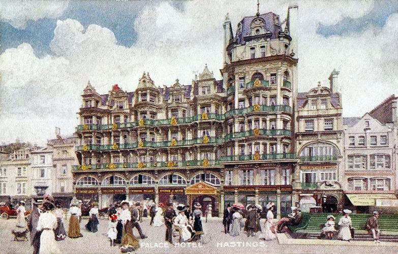 Memories of the Palace Hotel and its part in the promotion of 'Healthy Hastings'