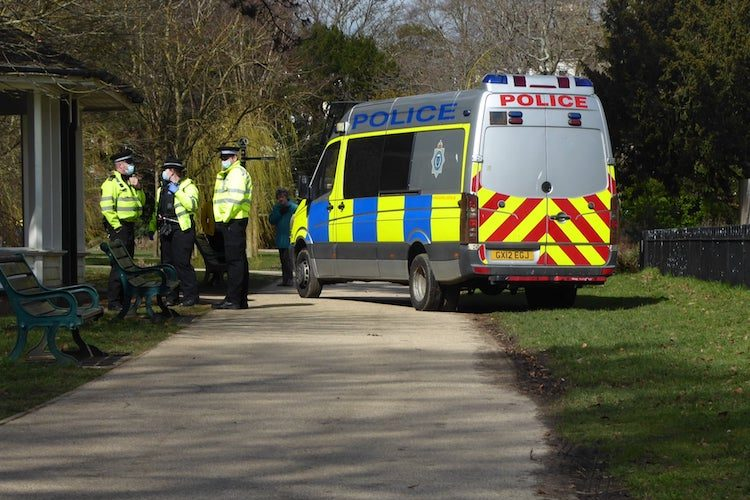 UPDATE – Police move to thwart Sunday protest plans in Hastings park, new statement from Sussex Police