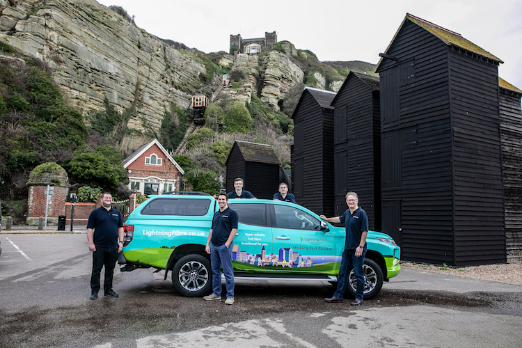 Hastings roll–out of Lightning Fibre is already underway