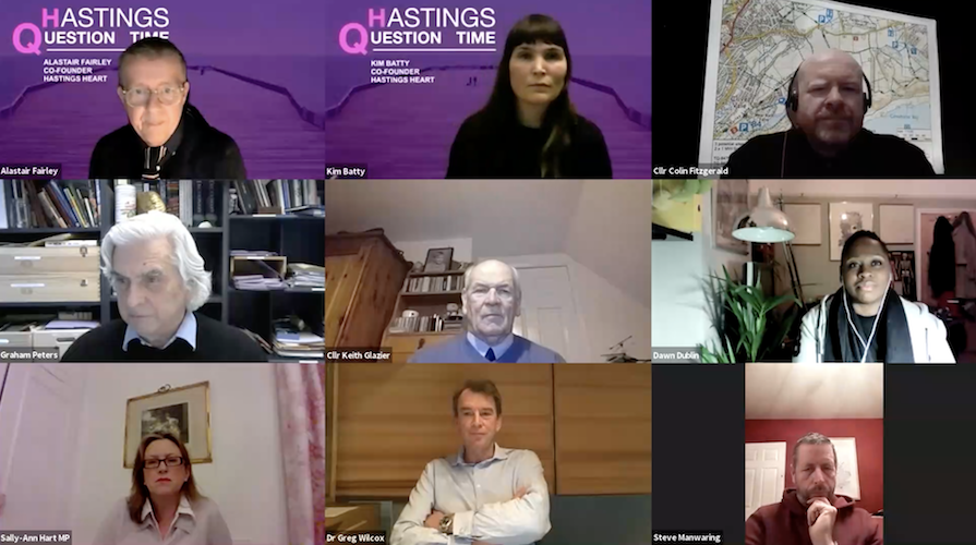Hastings Question Time audience just keeps growing – and there are plans for more to come