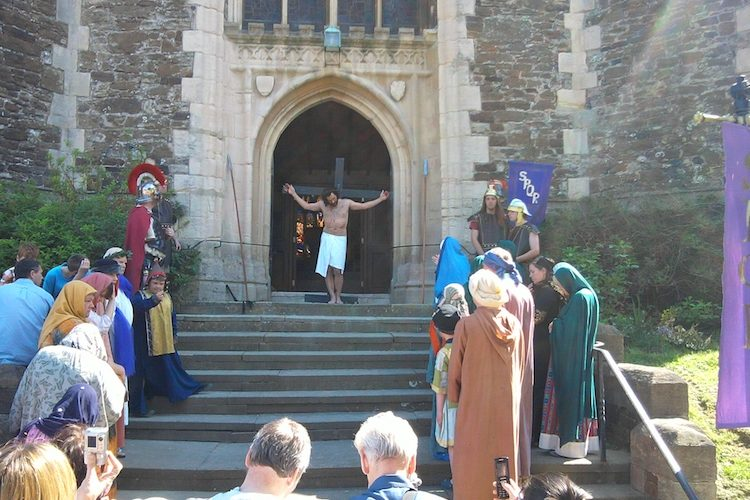 Easter story goes online – watch the Old Town Procession of Witness for the modern age