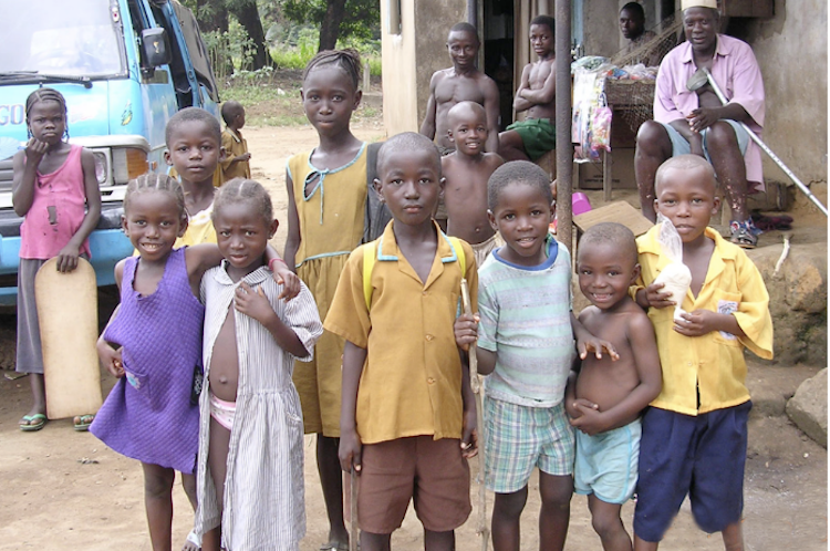 Kiley's Karpets gives Sierra Leone school farms project a boost!