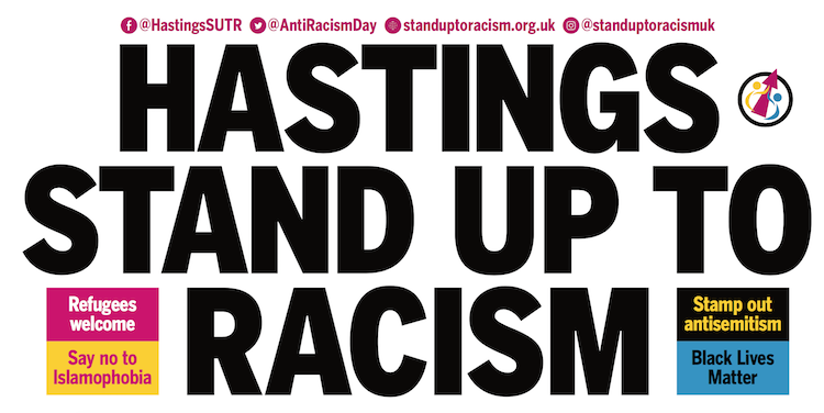 'An issue which unites us all' say organisers of Hastings' stand against racism
