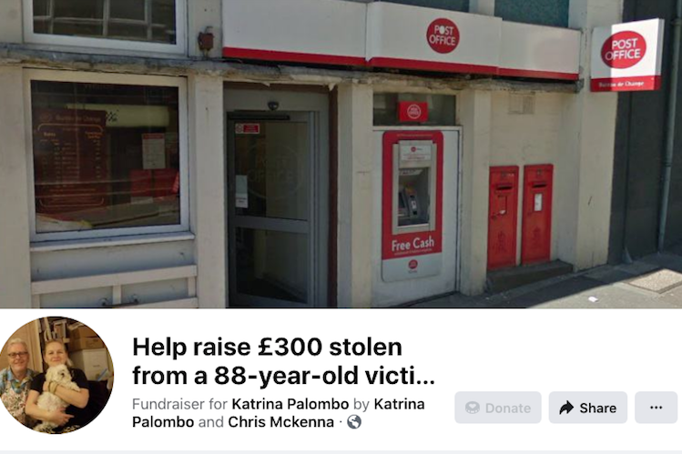 Good news Sunday – kind hearted locals raise money for pensioner robbed in St Leonards
