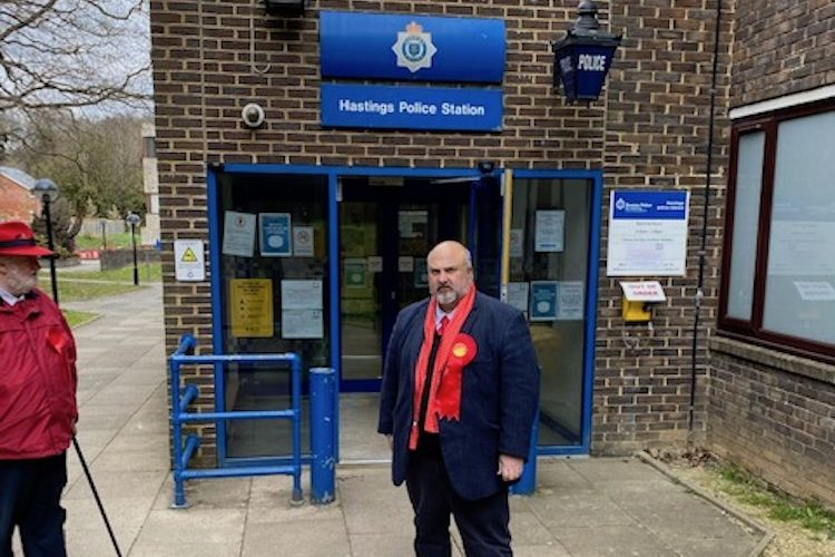More police on the streets is the answer says Labour candidate for Police and Crime Commissioner