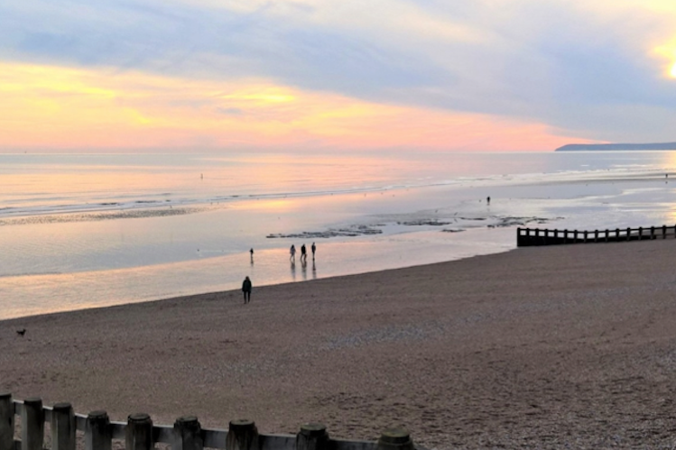 The town's beaches win awards once again