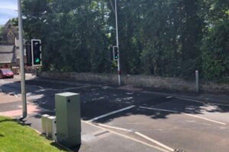 New pedestrian crossing on The Ridge