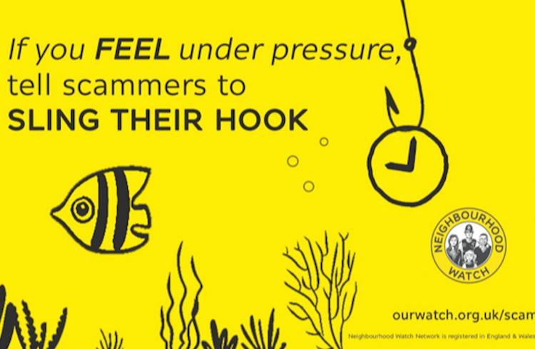 Sling your hook! Hastings Neighbourhood Watch joins campaign against fraud