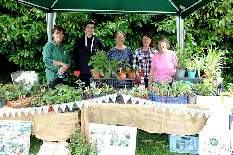 Volunteers raising funds to keep greenhouse project on track